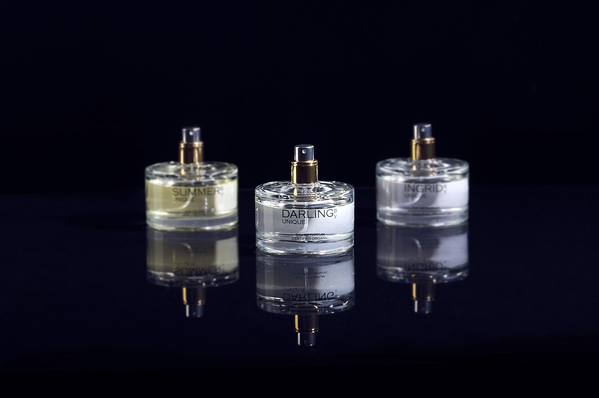 Eaux de Parfum BY UNIQUE, certifiés bio Ecocert